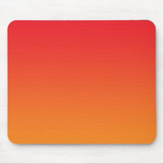 """""""Red And Orange Ombre"""" Mouse Pad"""
