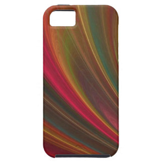 Red And Orange  Waves iPhone 5 Cases