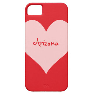 Red and Pink Arizona Case For The iPhone 5