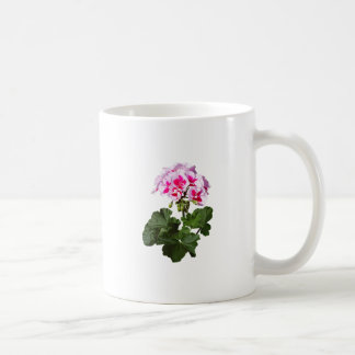 Red And Pink Geranium Coffee Mug