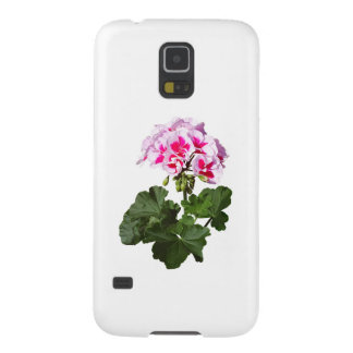 Red And Pink Geranium Galaxy S5 Covers