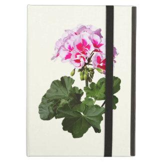 Red And Pink Geranium iPad Air Case