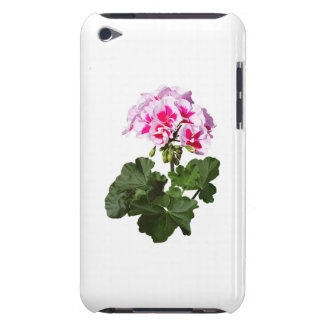 Red And Pink Geranium iPod Touch Case