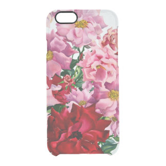 Red and Pink Roses 2008 Clear iPhone 6/6S Case