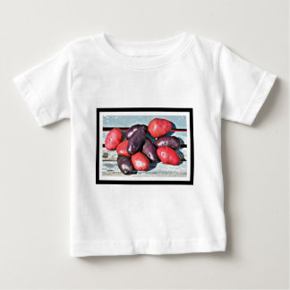 red and purple Potatoes Baby T-Shirt