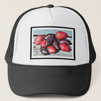 red and purple Potatoes Trucker Hat
