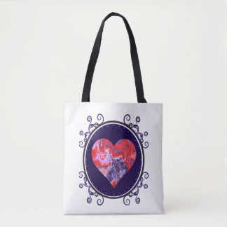 Red and Purple Tote Two
