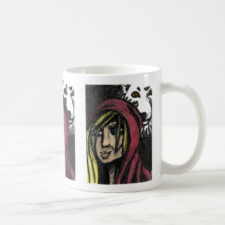 Red And The Wolf Mug