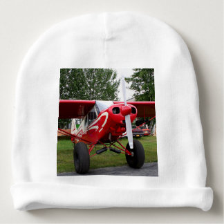 Red and white aircraft, Alaska Baby Beanie