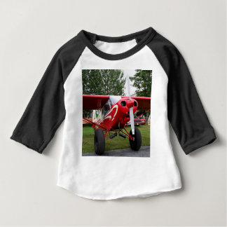 Red and white aircraft, Alaska Baby T-Shirt