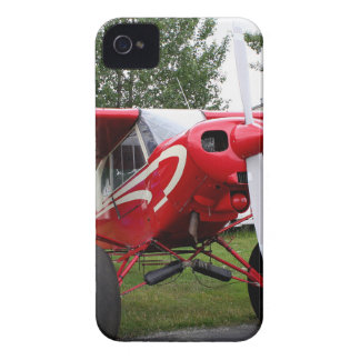 Red and white aircraft, Alaska iPhone 4 Case