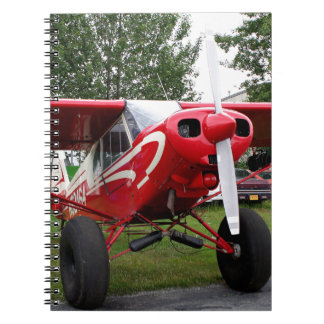 Red and white aircraft, Alaska Notebook