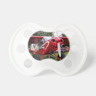 Red and white aircraft, Alaska Pacifier