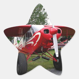 Red and white aircraft, Alaska Star Sticker