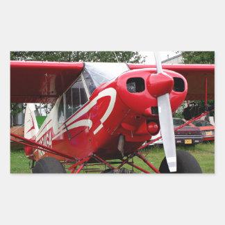Red and white aircraft, Alaska Sticker