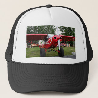 Red and white aircraft, Alaska Trucker Hat