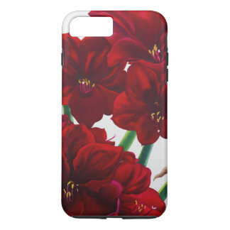 Red and White Amaryllis 2008 iPhone 7 Plus Case