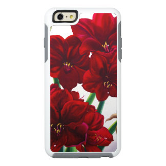 Red and White Amaryllis 2008 OtterBox iPhone 6/6s Plus Case