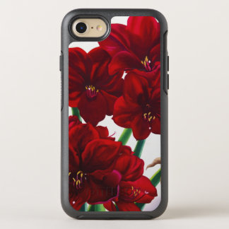 Red and White Amaryllis 2008 OtterBox Symmetry iPhone 7 Case