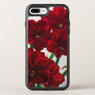 Red and White Amaryllis 2008 OtterBox Symmetry iPhone 7 Plus Case