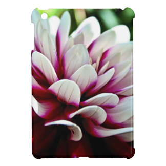 Red and White Dahlia flower Case For The iPad Mini