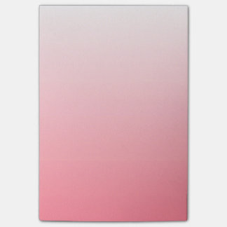 Red and White Gradient Post-it Notes