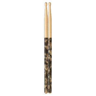 Red and White Granite Mineral Texture Drumsticks