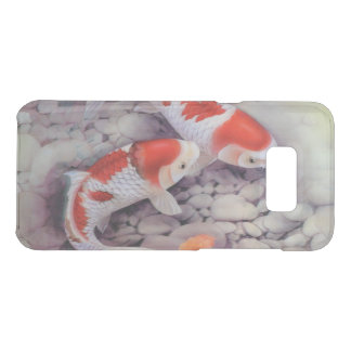 Red and White Koi Fish Pond Uncommon Samsung Galaxy S8 Plus Case