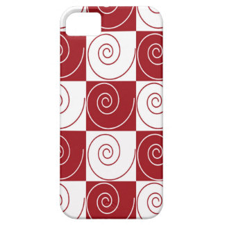 Red and White Mouse Tails iPhone 5 Cover