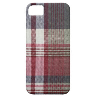 Red And white Plaid iPhone 5 Case