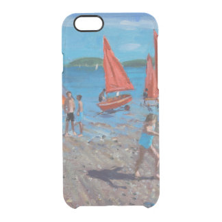 Red and White Sails Abersoch Clear iPhone 6/6S Case