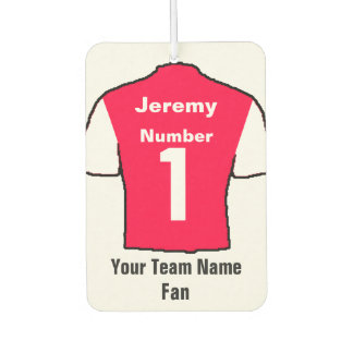 Red and White Shirts Fan Air Freshener
