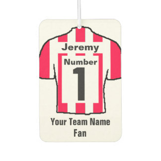 Red and White Shirts Fan Car Air Freshener