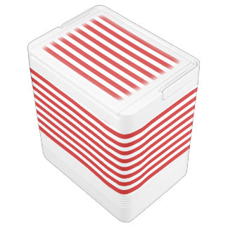 Red and White Stripe Pattern