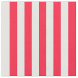 Red and White Striped Fabric