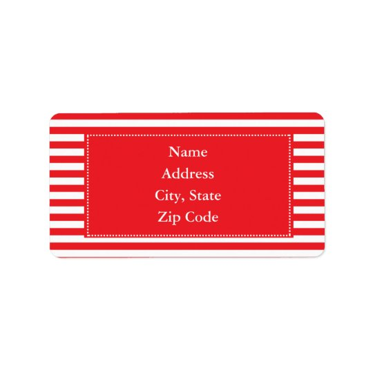 Red and White Stripes Pattern
