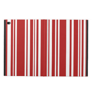 Red and White Stripes, Various Widths Powis iPad Air 2 Case