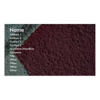 Red And White Texture (Wall) Business Card