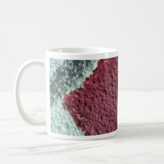 Red And White Texture (Wall) Mugs