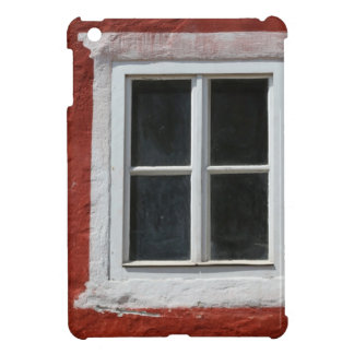 Red and White Window Cover For The iPad Mini