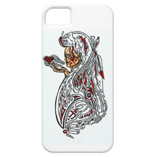red and white women iPhone 5 cover