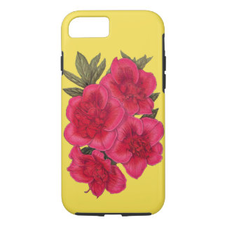 Red And Yellow Azalea Flower iPhone Case