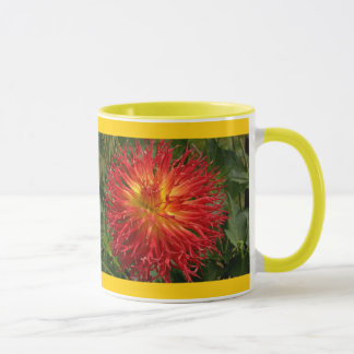 Red And Yellow Crazy Dahlia Multiple Items Mug
