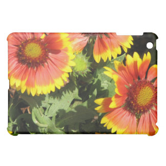 Red and Yellow Flowers iPad Case