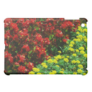red and yellow flowers iPad mini covers