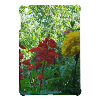 Red And Yellow Flowers Outdoor Photography iPad Mini Covers