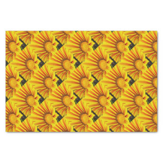 Red and Yellow Gazania Tissue Paper