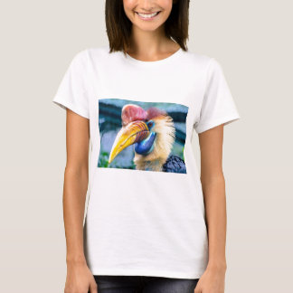 Red and Yellow Hornbill T-Shirt