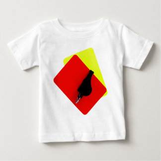 red and yellow map baby T-Shirt
