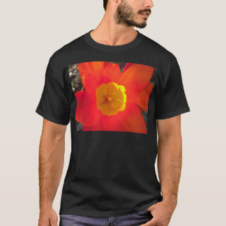 Red and yellow open tulip flower T-Shirt